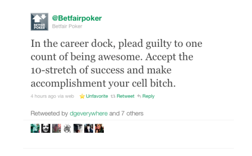 The method behind the madness that is @Betfairpoker.