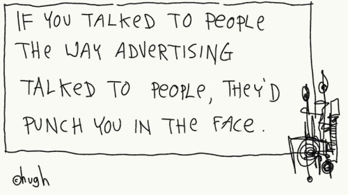 Brand management is anti-social.