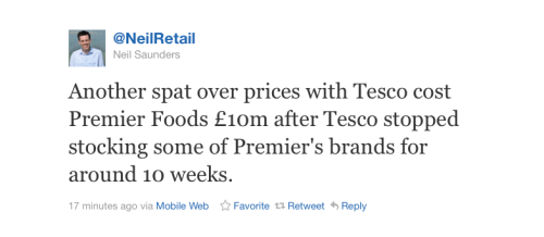 Tesco, the cheesemaker, Facebook and Google+