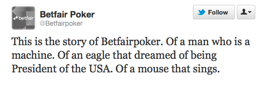 The @Betfairpoker Twitter story – part 2.