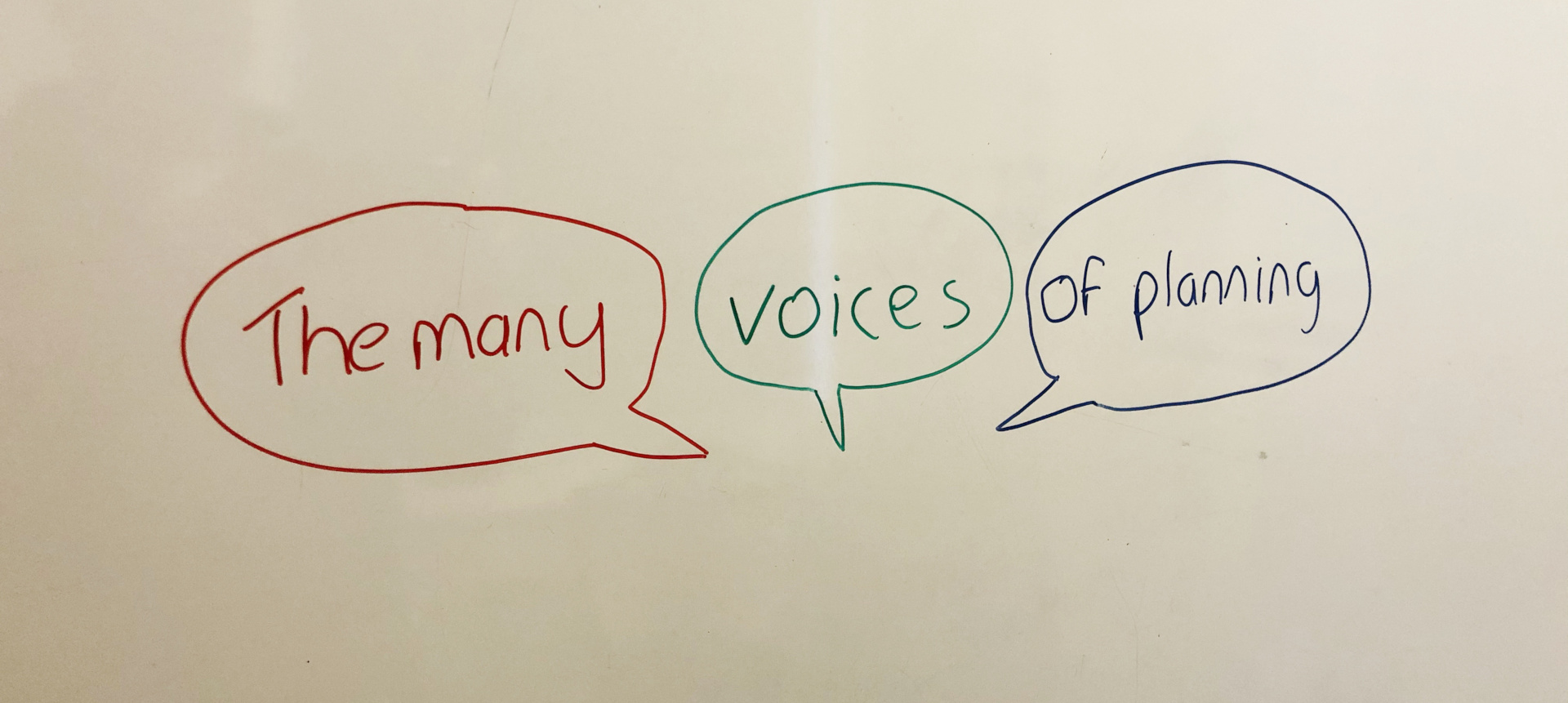 The many voices of Planning.