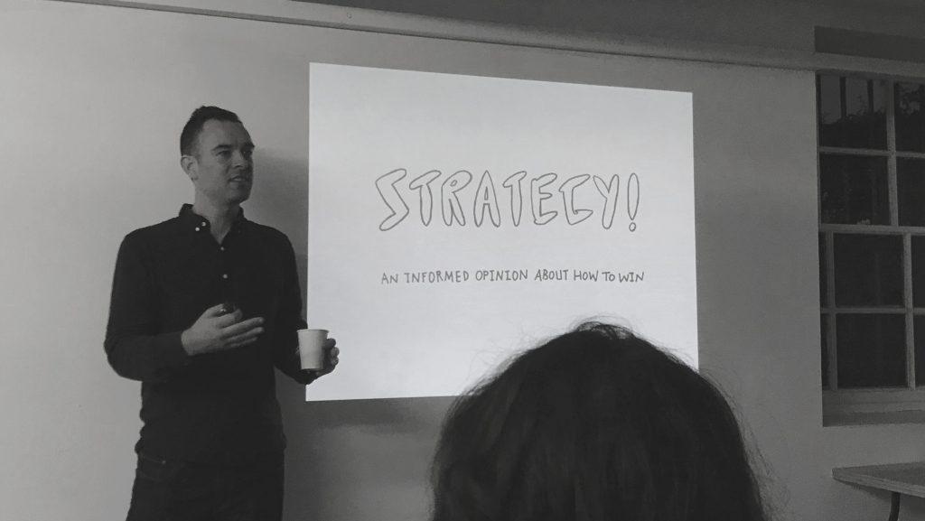 Mark Pollard IPA Strategy Workout Edinburgh November 2018