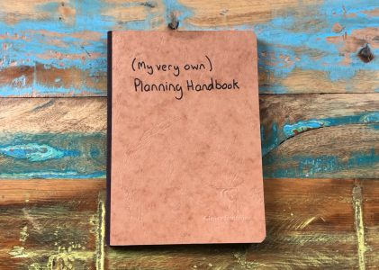 My very own planning handbook