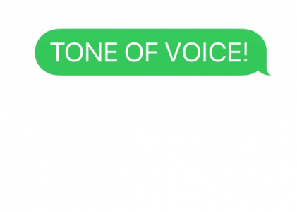 Tone of voice: a very important waste of time