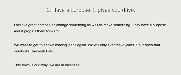 Hiut purpose (Brand purpose)